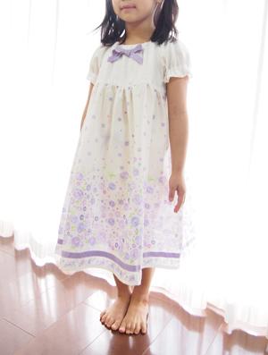 ネグリジェ-ダブルガーゼ紫小花6.jpg