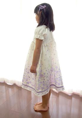 ネグリジェ-ダブルガーゼ紫小花8.jpg