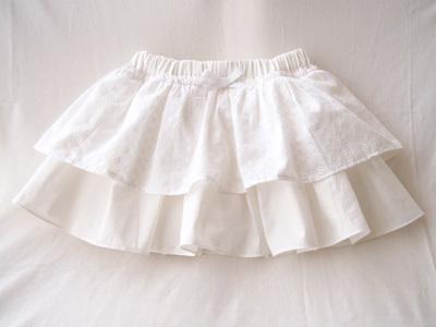 白地白レースパンツインスカート1.jpg