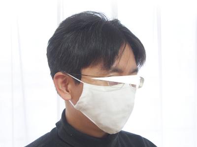 マスク 大人 立体 男性 型紙